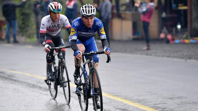 Tour de Turquía: Ataque de líder de Remco Evenepoel, con 19 añitos hace la selección final