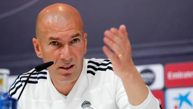 """Zidane, sobre el mercado de fichajes: """"Habrá cambios, es obligatorio para todos"""""""