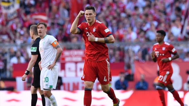 Süle winner keeps Bayern on track for Bundesliga title