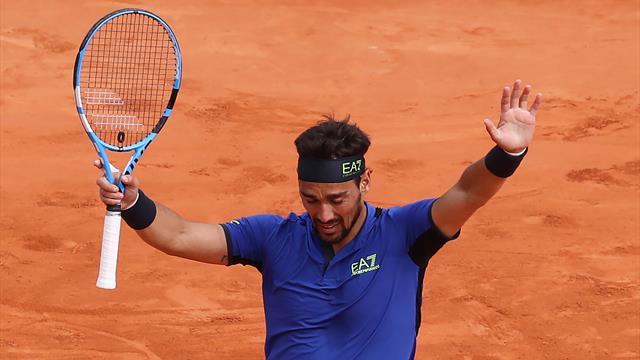 Tennis, Fognini a Madrid si qualifica per gli ottavi di finale