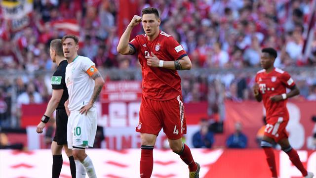 Süle tire le Bayern d'un mauvais pas, Stuttgart et Pavard coulent