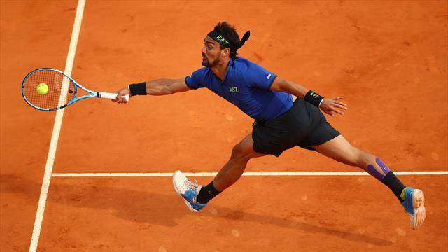 Gli highlights dell'impresa da sogno di Fognini contro Nadal a Monte Carlo