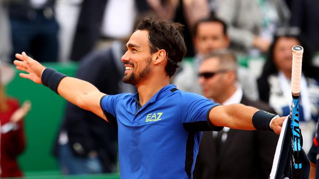 Fognini stuns Nadal to reach final