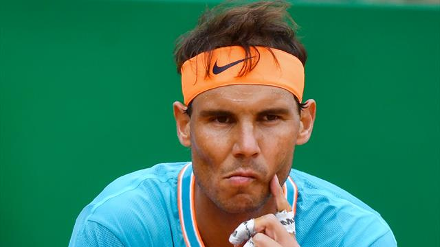 """Nadal : """"L'un de mes pires matches sur terre en 14 ans"""""""