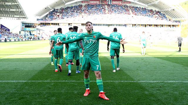 Deulofeu double seals Watford win at Huddersfield