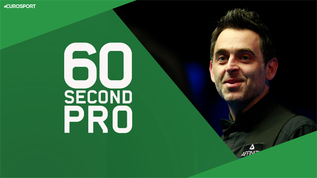 Ronnie O'Sullivan - 60-second pro: How to pot off the cushion