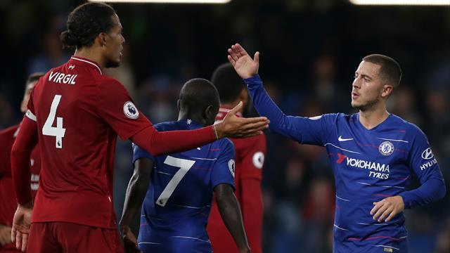 Van Dijk, Hazard, Mané et trois Citizens nominés pour le titre de joueur de l'année