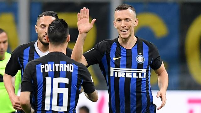 Perisic earns wasteful Inter draw with Roma