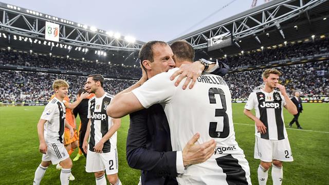 Huit à la suite pour la Juve, une domination record en Europe