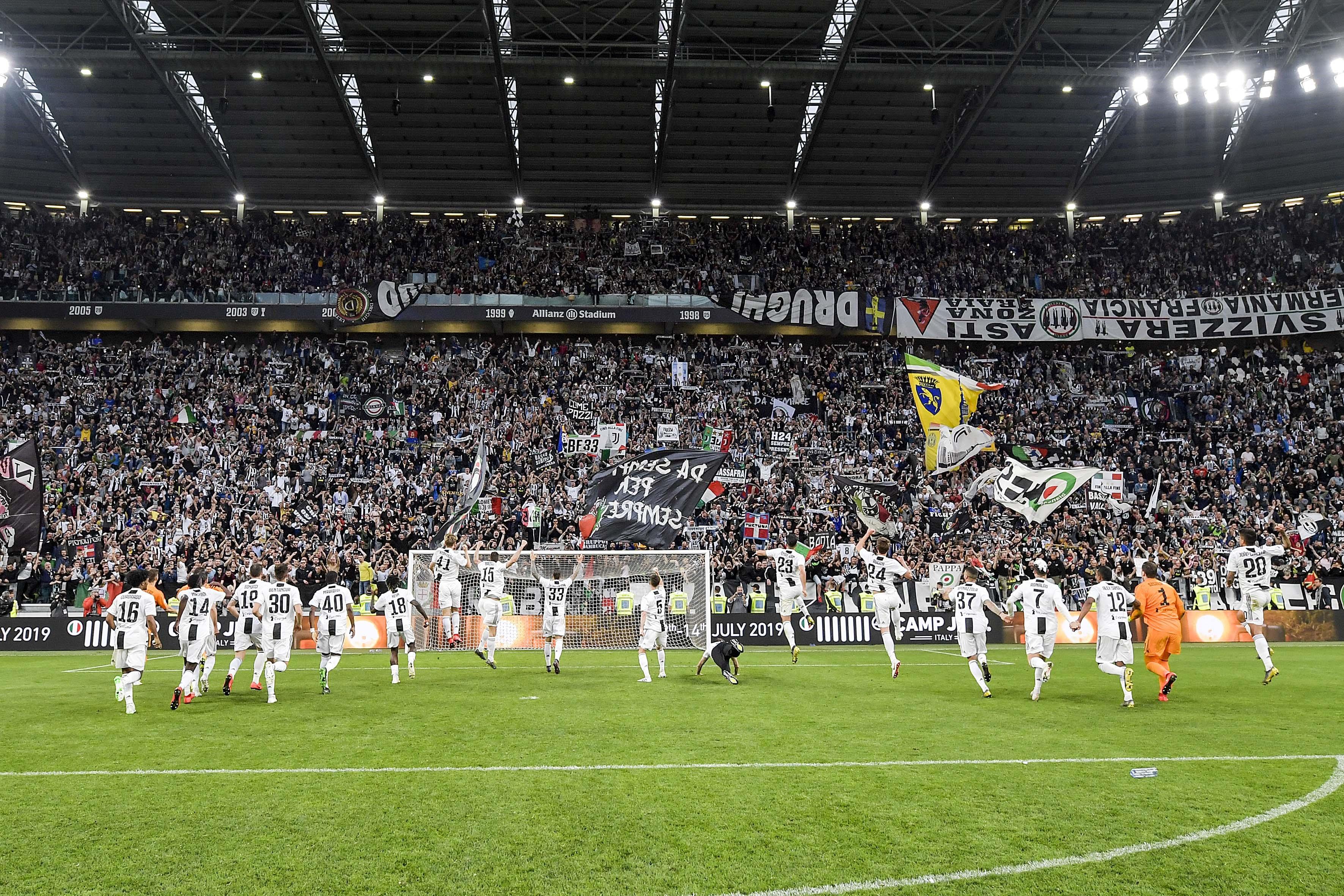 La Juventus fête son 35e titre de champion d'Italie