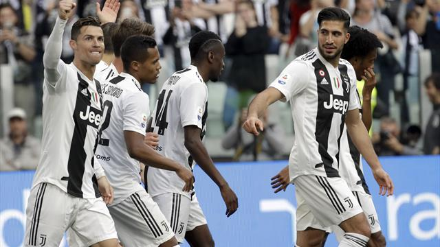 Juventus march goes on as they wrap up eighth title in a row