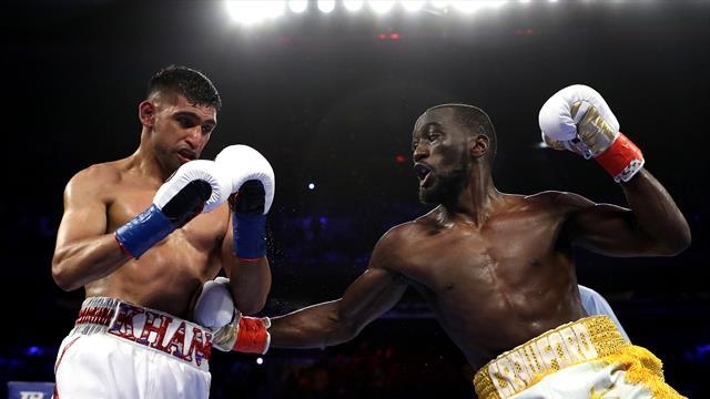 Crawford surclasse Khan et conserve sa ceinture