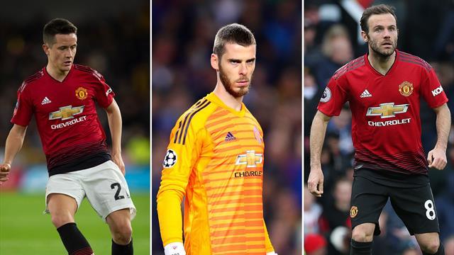 Herrera, De Gea and Mata feel 'treated differently' to English team-mates