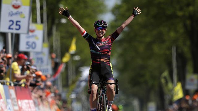 Amstel Gold Race2019: Niewiadoma aguanta la persecución final de Van Vleuten