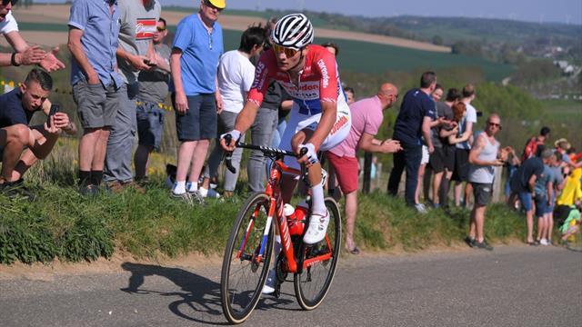 Amstel Gold Race2019: El ataque de Van der Poel a falta de 43 kms, ¡tremendo demarraje!