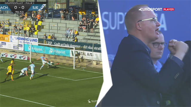 Highlights: Juel-Nielsen sørgede for vigtig SønderjyskE-sejr og forværrede Horsens' store krise