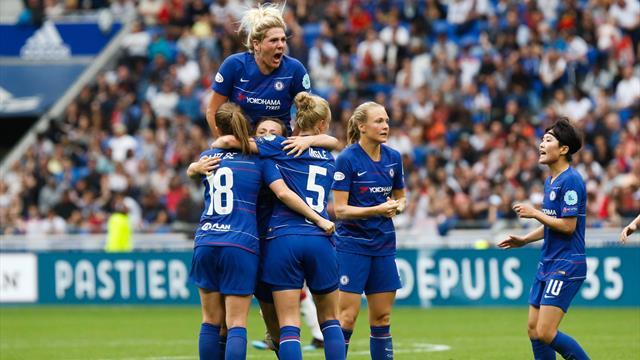 Lyon beat Chelsea but away goal means semi-final tie still open