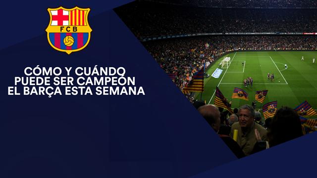 Cómo y cuándo puede ser el campeón el Barça: Las cuentas de Valverde
