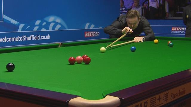 Campeonato del Mundo de Sheffield: El genial golpe de Murphy en el frame final ante Luo Honghao