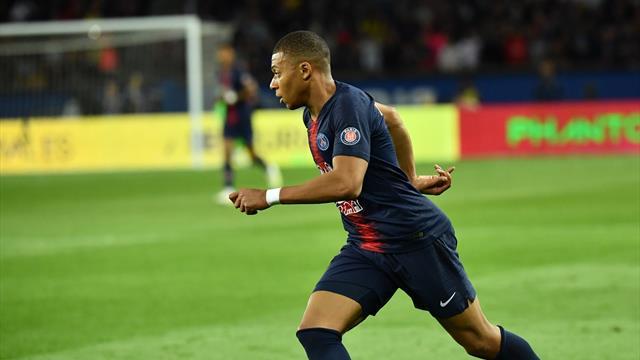 Mbappé più veloce di Bolt? Il giocatore del PSG viaggia a 38 km/h sul gol dell'1-0 al Monaco