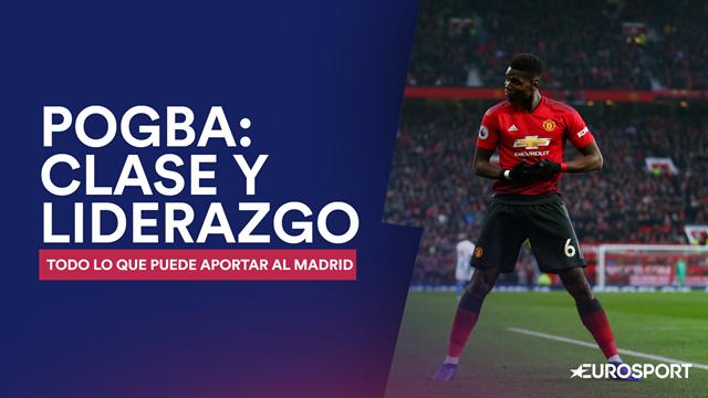 La opción Pogba: Todo lo que podría aportar al Real Madrid