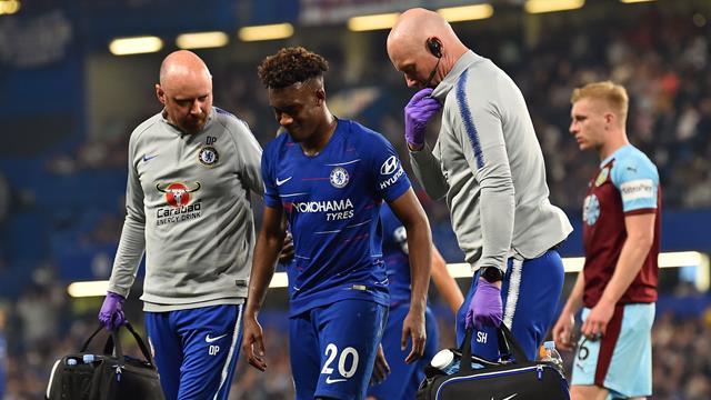 Chelsea: fin de saison pour Hudson-Odoi