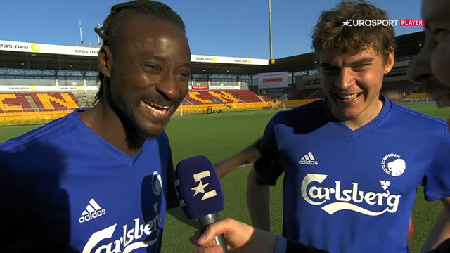 Dame N'Doye om målet mod FC Nordsjælland: It hit me between my legs so I scored with my 'sex'
