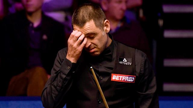 O'Sullivan 'struggled to stay awake' during shock defeat