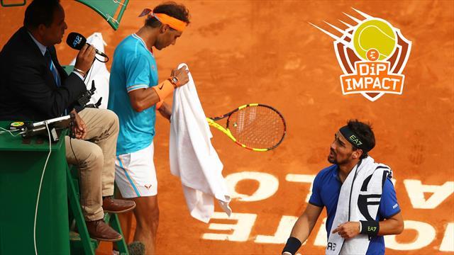 """Di Pasquale : """"Pas sûr que Fognini aurait pris un 3e set à Nadal à Roland"""""""