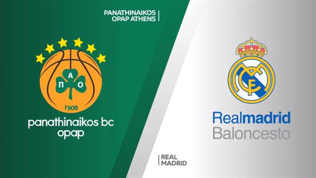 Highlights: Panathinaikos Opap Atene-Real Madrid 82-89