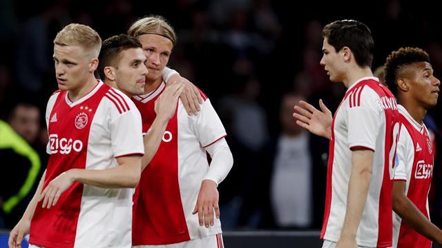 «Аякс» наколотил 160 мячей в сезоне – это рекорд голландского футбола