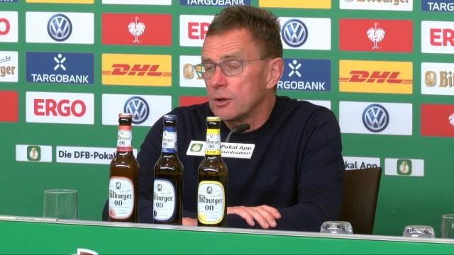 Aus der vierten Liga ins Pokal-Finale: Rangnick feiert Leipzigs Erfolgsgeschichte