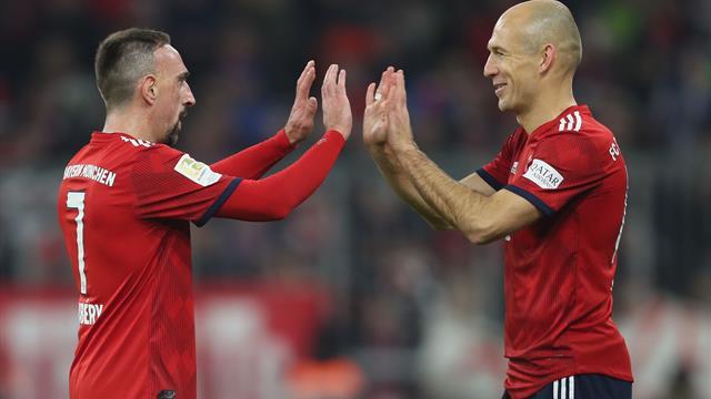 So reagieren die Bayern-Stars auf Robbens Karriereende