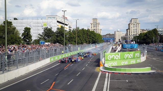 Las calles de París reciben el Mundial de Fórmula E, en directo, en Eurosport (sábado 16:00, E1)