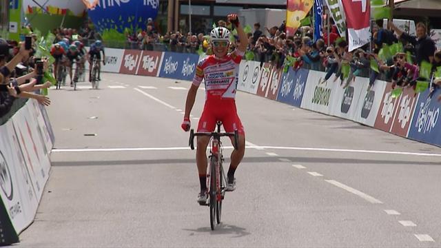 Tour de los Alpes: Fausto Masnada se lleva el triunfo atacando en solitario a 1,4 km