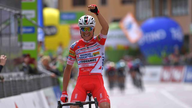 Fausto Masnada triumphs on Stage 3