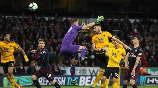 Arsenal s'écroule à Wolverhampton