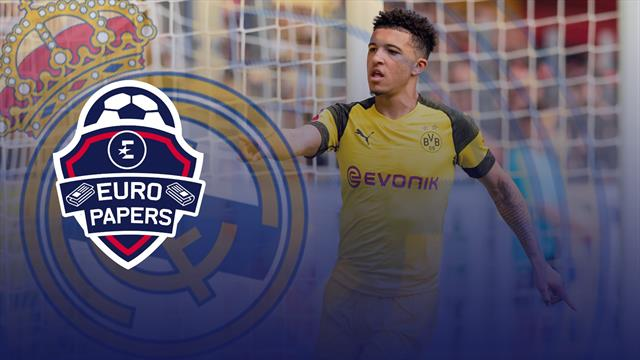 Euro Papers: Real join Sancho race - but Dortmund demand astronomical fee