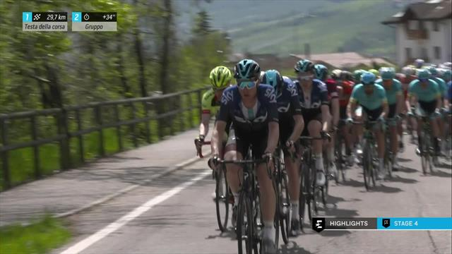 Highlights: How Hart beat Nibali for second Tour of The Alps stage win
