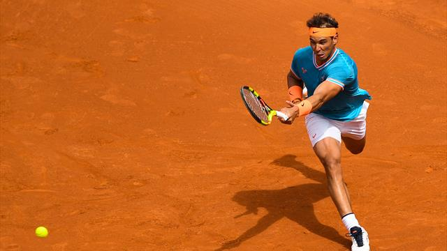 Frappes de mule, amorties : Nadal et Ferrer ont régalé pour conclure le premier set