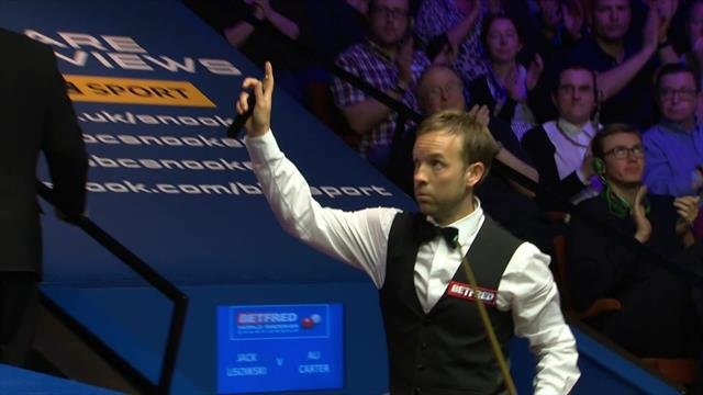 Carter wraps up opening win against Lisowski