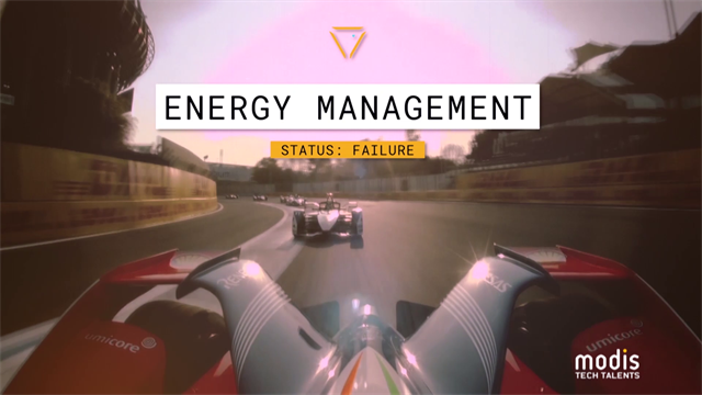 The skill of energy management in Formula E