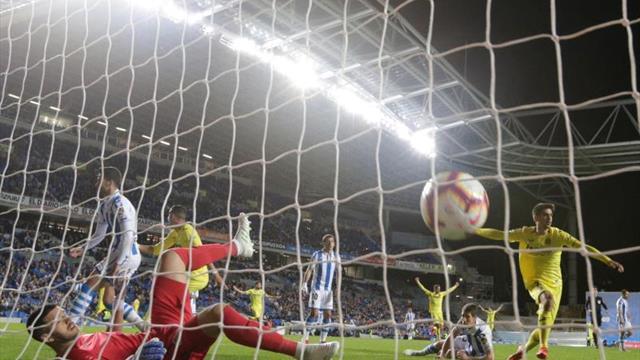 0-1. Gerard Moreno le da media permanencia al Villarreal