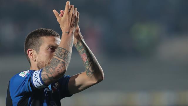 Gomez strike sends dark horses Atalanta to Coppa Italia final
