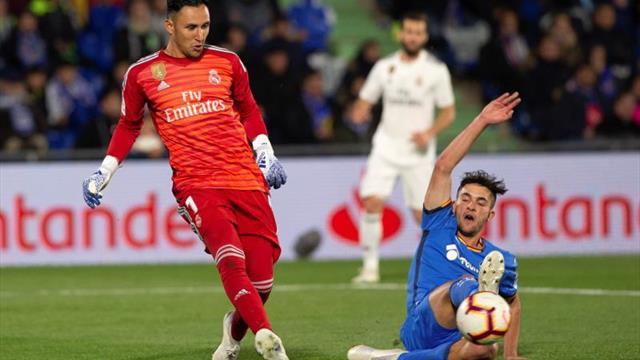 Zidane apuesta por Keylor que responde con firmeza