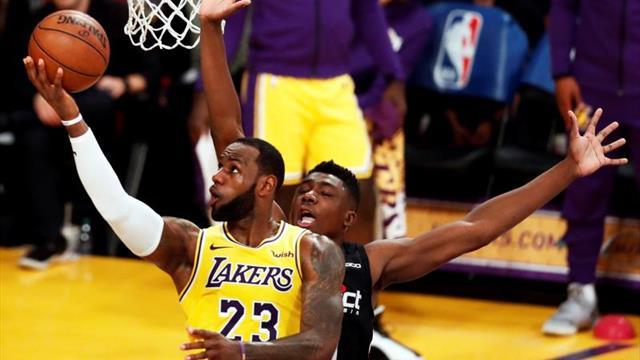 James y Lakers fueron los campeones en ventas de camisetas