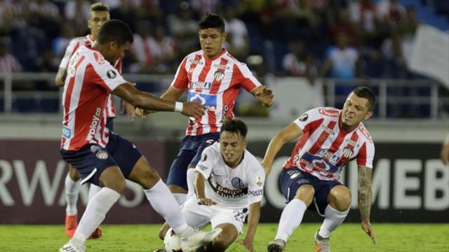 1-0. Junior vence a San Lorenzo y rompe racha de ocho partidos sin ganar