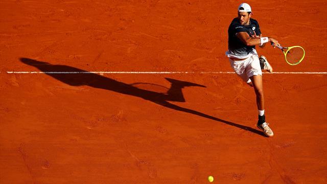 Tennis: Krajinovic ko, Berrettini vince a Budapest