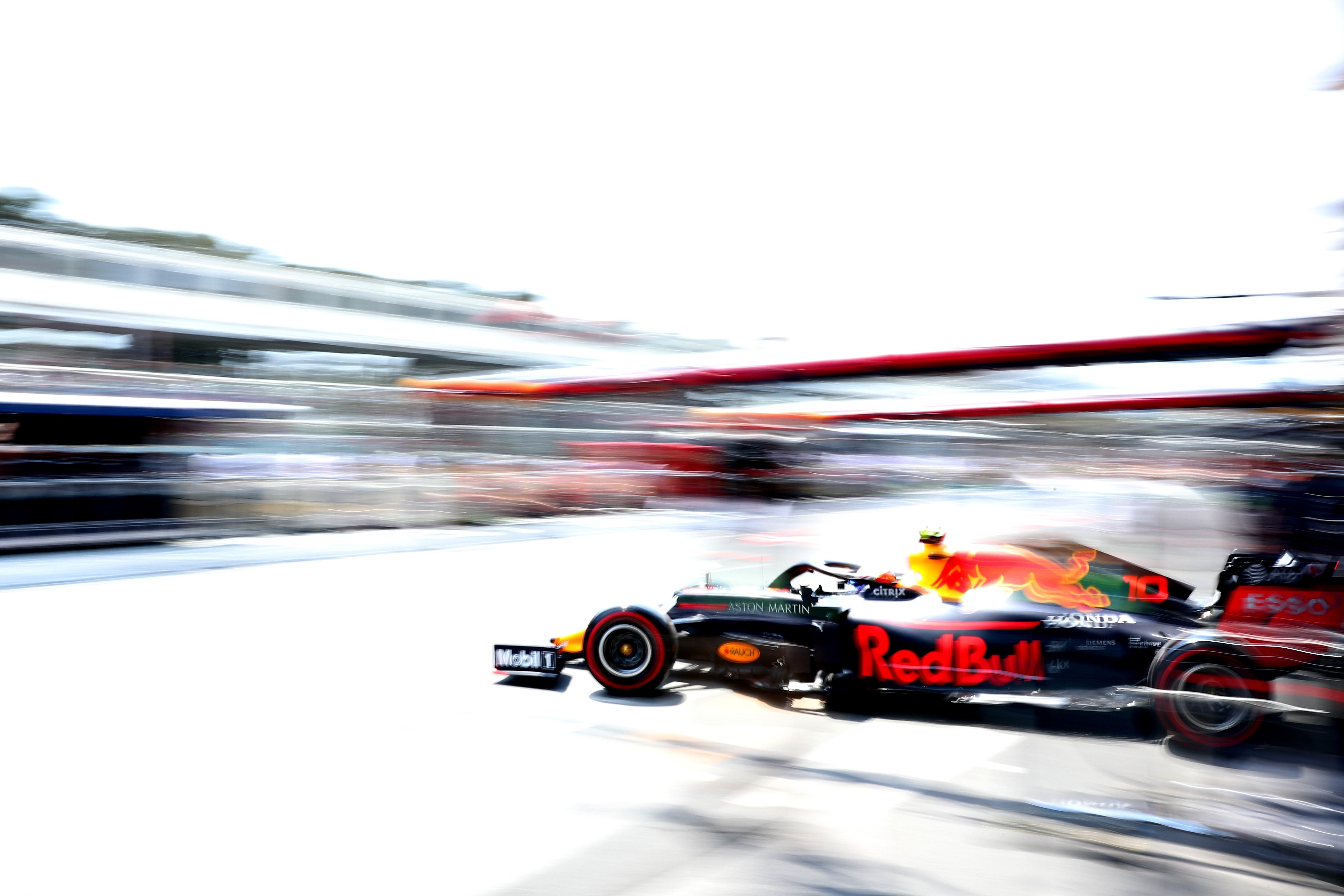 Pierre Gasly (Red Bull) au Grand Prix d'Azerbaïdjan 2019