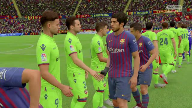 Liga Virtual: Así ha quedado el Barça-Levante